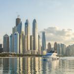 Dubai Marina, — Прогулка на катере!