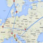 Путешествие в Европу 2014