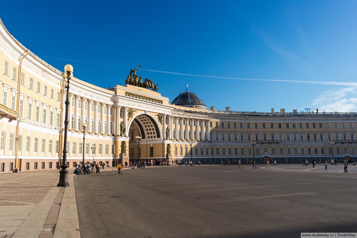 Sun in Petersburg